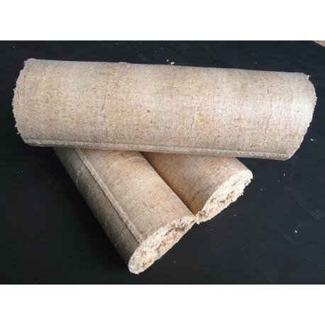Briquettes de bois compressé - Jour (2-3 heures) - Palette de 990 kg